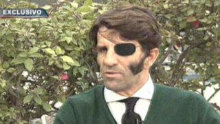 Torero que perdió un ojo en el 2011 llega a Lima para faena