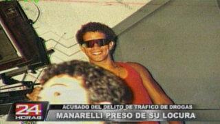 Trasladan al ex integrante del clan Calígula, Luis Manarelli, a penal del Callao