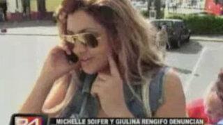 Michelle Soifer denunció estar siendo extorsionada a través de su celular