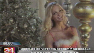 Recibe los regalos de Navidad que nos traen las modelos de Victoria Secret