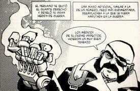 Cómic chileno muestra a Miguel Grau como un cyborg villano