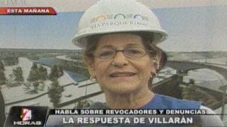 Susana Villarán no responde sobre supuesto vínculo con asesor Luis Favre