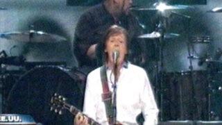 Nueva York: estrellas de rock se unieron por víctimas del huracán Sandy