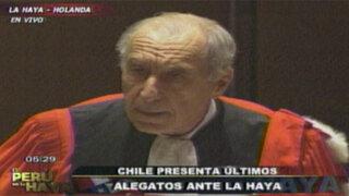 Pierre-Marie Dupuy apeló al sentido de solidaridad entre Perú y Chile