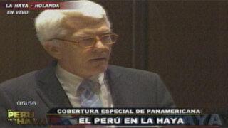 Jan Paulsson: el Perú intenta trivializar los acontecimientos de 1968 y 1969