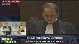 Giorgios Petrochilos: la ley es muy clara y habla de un límite fronterizo