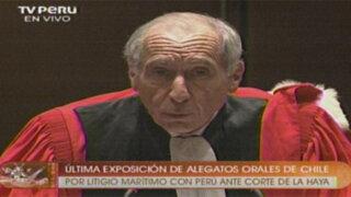 Intervención completa de Pierre-Marie Dupuy en defensa de Chile