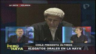 Guibovich: Chile buscó armar la ficción de un tratado de límites marítimos