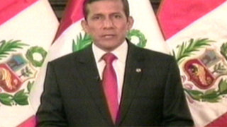 Presidente Humala asiste a presentación de libro sobre Miguel Grau