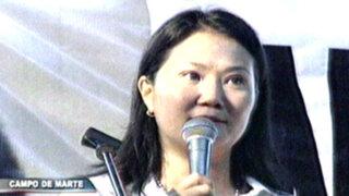 Keiko sobre indulto: Presidente tiene en sus manos decisión histórica