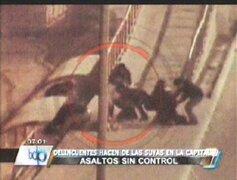 Cuidado: delincuentes están a la orden del día por navidad en Lima