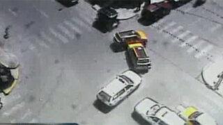 Tenga cuidado, accidentes en las pistas de Lima se incrementan en Navidad