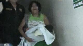 Ica: madre rescató a su bebé recien nacida de morir entre llamas