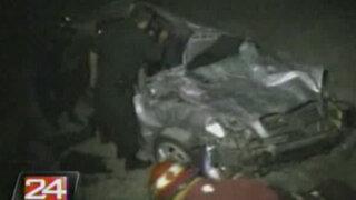 Tacna: un colectivo colisionó dejando un muerto y cuatro heridos