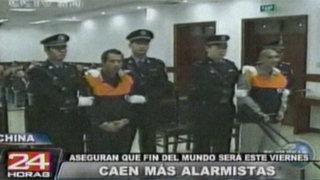 China: encarcelarán a todos los que anuncien supuesto fin del mundo