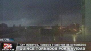 Estados Unidos: paso de tornados dejaron tres muertos en Navidad