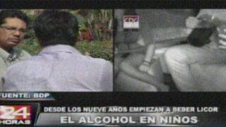 Menores de edad consumen sus vidas por la adicción al alcohol