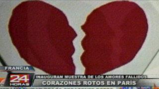 Paris: museo exhibirá objetos de relaciones amorosas que terminaron mal