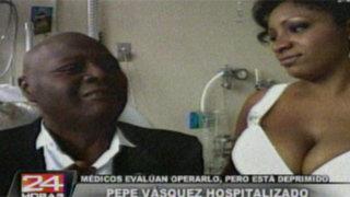 Esposa de Pepe Vásquez exigió que reconozcan pensión de su marido