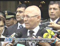 César San Martín: Todo está arreglado, Antauro no saldrá de prisión