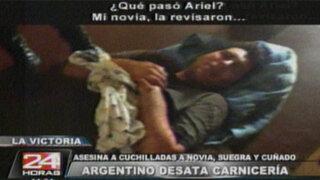 Continúa el interrogatorio a ciudadano argentino culpable de triple homicidio
