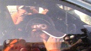 Hermana de Maribel Velarde acudió a declarar por camioneta de lujo