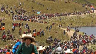 Cajamarca: ronderos se preparan para marchar contra el proyecto Conga