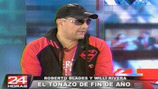 Roberto Blades celebrará el año nuevo cantando para público peruano