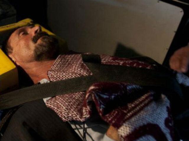 Guatemala: estabilizan salud de McAfee tras cuadro de hipertensión