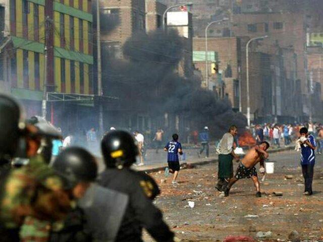 Operativo inicial de La Parada no tuvo plan policial