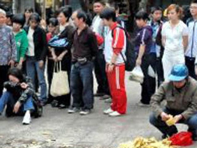 China: desquiciado ingresa a escuela inicial y apuñala a 22 niños