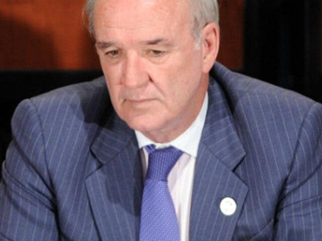 García Belaunde: No comentaré sus palabras, Piñera ya está dejando el cargo