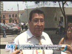 Abogado de Maribel Velarde pidió anular el caso