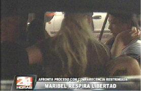 Maribel Velarde afrontará proceso con comparecencia restringida