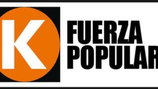 'Fuerza 2011' cambia de nombre a 'Fuerza Popular', anuncian