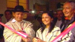 Pasco: presidente Ollanta Humala inauguró primer 'Tambo' del país