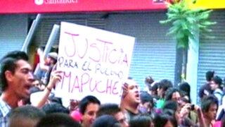 Chile: dos muertos dejaron violentos enfrentamientos con etnia mapuche