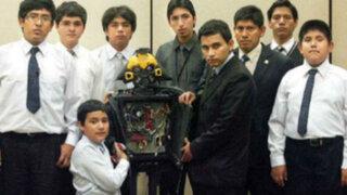 El primer androide peruano fue construido por seis jóvenes genios