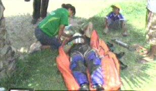 Aficionados ecuatorianos y pilotos heridos en el Dakar