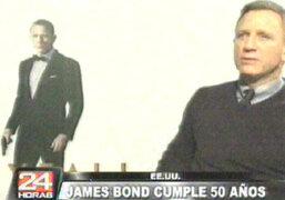 USA: James Bond cumple cincuenta años