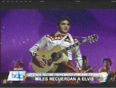 El mundo conmemoró los 78 años del nacimiento de Elvis Presley