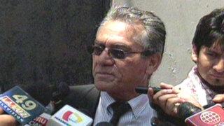 Líder del Movadef Alfredo Crespo asumió defensa de 'Artemio'