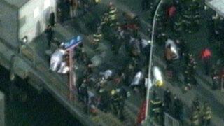 EEUU: 57 heridos deja choque de un ferry en isla de Manhattan