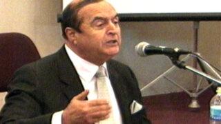 Montesinos insiste en su inocencia por matanzas de los años noventa