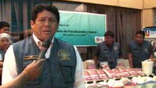 Municipalidad incauta 500 litros de yogurt adulterado en Cercado de Lima