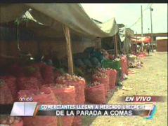 Comerciantes de La Parada comenzarán a trabajar en mercado Unicachi