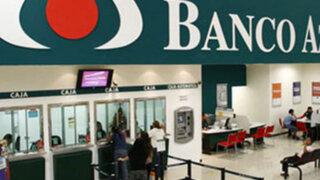 Ladrones asaltan Banco Azteca de Santa Anita y se llevan S/.45 mil