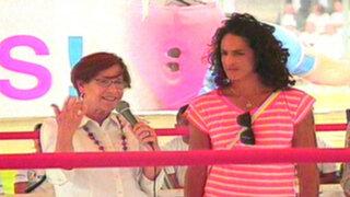 Villarán y Kina Malpartida abren escuela de box en San Juan de Miraflores
