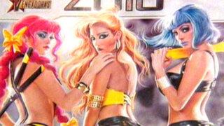 Vengadoras lanzan su nuevo calendario 2013 en versión cómic