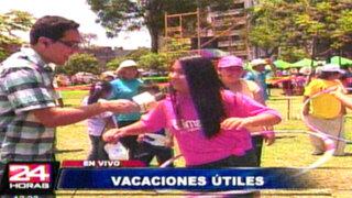 Municipalidad de Lima inició talleres de vacaciones útiles en verano